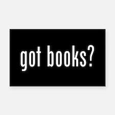 Books Rectangle Car Magnet
