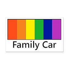Cute Gay families Rectangle Car Magnet