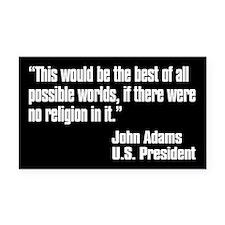 John Adams Quote Rectangle Car Magnet