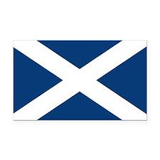 Scottish Flag Rectangle Car Magnet