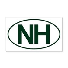 NH Oval Rectangle Car Magnet