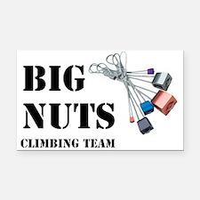 BIG NUTS Climbing Team Rectangle Car Magnet
