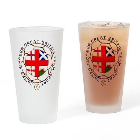 Great Britain team sport national flag crest Drink