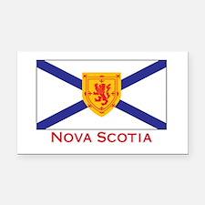 Nova Scotia Rectangle Car Magnet
