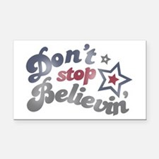 Don't Stop Believin' Rectangle Car Magnet