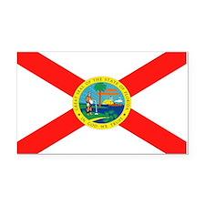 Florida State Flag Rectangle Car Magnet