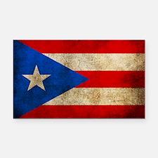 Puerto Rico Rectangle Car Magnet