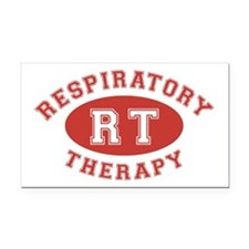 Respiratory Therapy - Athleti Rectangle Car Magnet