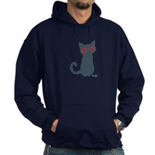 Nerdy Kitty Hoody