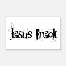 Jesus Freak Rectangle Car Magnet