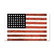 Rustic Glory Rectangle Car Magnet