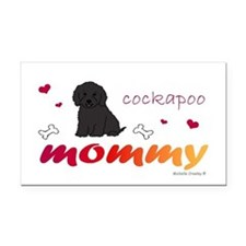 cockapoo Rectangle Car Magnet