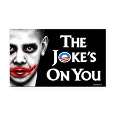 The Joke's on You! Rectangle Car Magnet