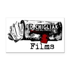 Ed Chigliak Films Rectangle Car Magnet