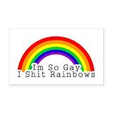 """Gay pride 3"""" x 5"""""""