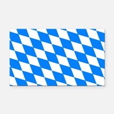 Bavaria Flag Rectangle Car Magnet