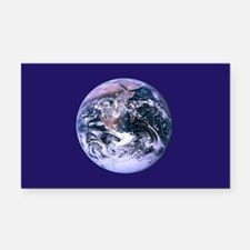 Planet Earth Rectangle Car Magnet