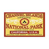 "Channel islands 3"" x 5"""