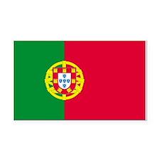 Portugal Rectangle Car Magnet