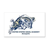 "Naval academy 3"" x 5"""