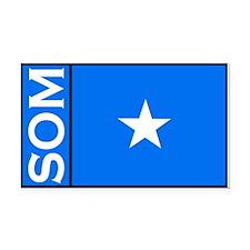 Somali flag Rectangle Car Magnets Rectangle Car Ma