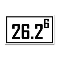 Marathon 6 Rectangle Car Magnet