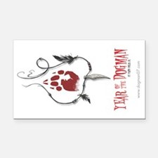 Year of the Dogman Rectangle Car Magnet