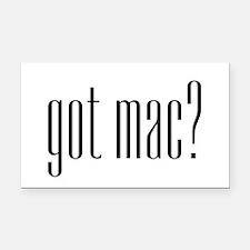 got mac? Rectangle Car Magnet