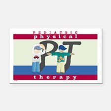 Pediatric Physical Therapy Rectangle Car Magnet