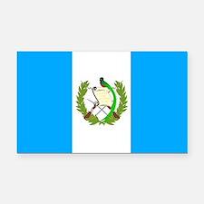 Guatemala Rectangle Car Magnet