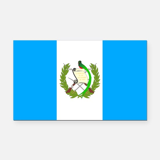 Guatemala Rectangle Car Magnet