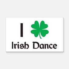 Irish Dance Rectangle Car Magnet