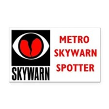 Skywarn Rectangle Car Magnet