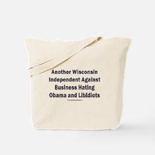 Wisconsin Independent Tote Bag