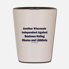 Wisconsin Independent Shot Glass