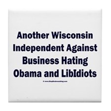 Wisconsin Independent Tile Coaster