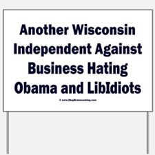 Wisconsin Independent Yard Sign