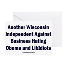 Wisconsin Independent Greeting Card