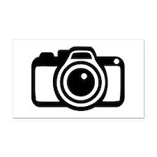 Camera Rectangle Car Magnet