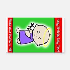 Funny Sarah palin%27s daughter bumper Rectangle Car Magnet