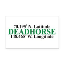 DeadHorse Rectangle Car Magnet