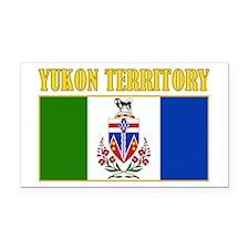 Yukon Territory Rectangle Car Magnet