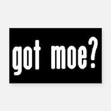 got moe? Rectangle Car Magnet