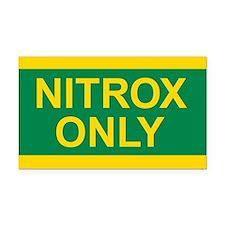 NITROX Tank Rectangle Car Magnet