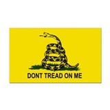"Dont tread on me 3"" x 5"""