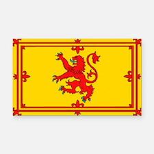 Scottish Royal Flag Rectangle Car Magnet