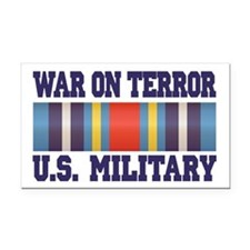 War On Terror Service Ribbon Rectangle Car Magnet