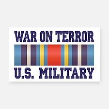 War On Terror Service Ribbon Rectangle Car Magnet