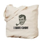 I Have Candy Black.png Tote Bag