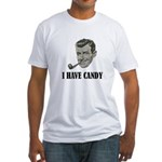 I Have Candy Black.png Fitted T-Shirt